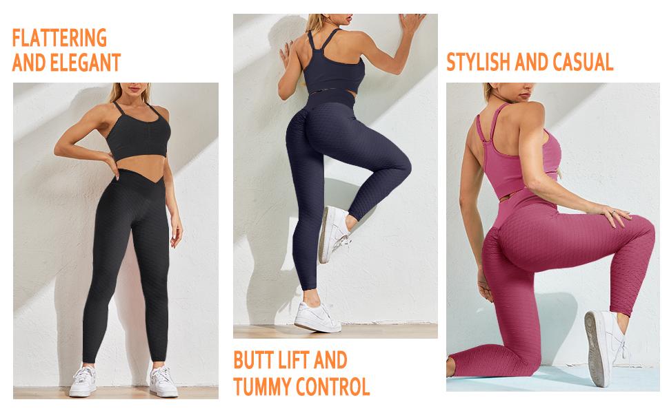 ruched butt yoga pants
