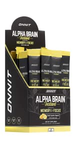 Onnit Alpha Brain Instant - Meyer Lemon