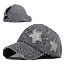 gray star hat