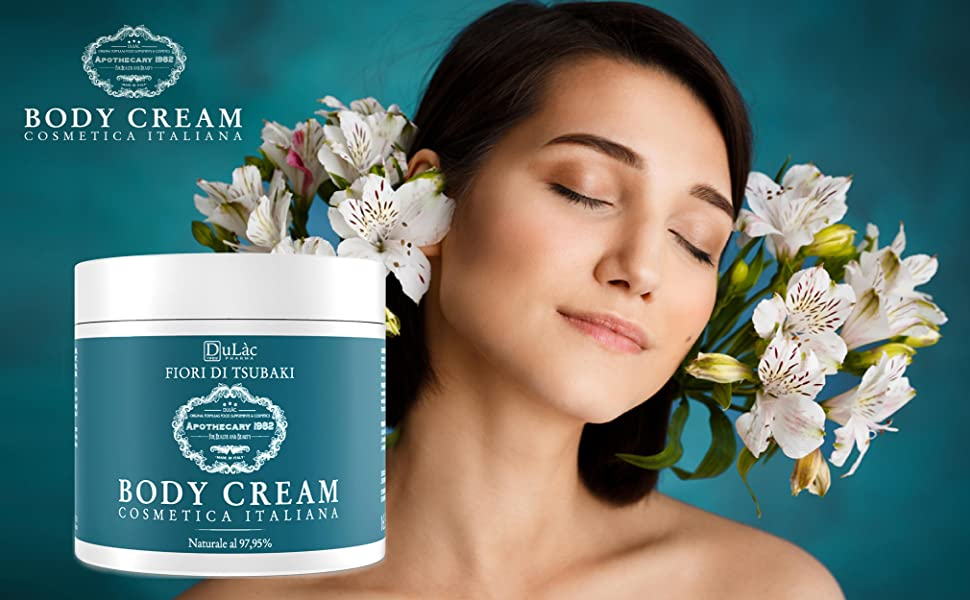 body cream made in italy