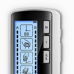 Pynhoklm Dual Channel TENS EMS Unit Rechargeable Muscle Stimulator