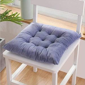 dark grey chair pads and seat cushions