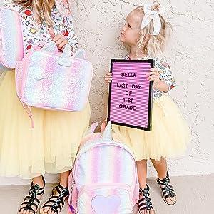 girls lunch bag