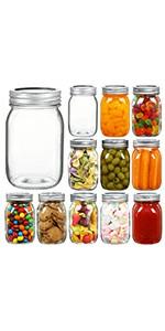 16 oz mason jars