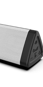 OontZ Angle 3 Bluetooth Portable Speaker - White