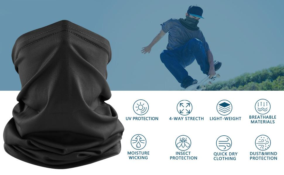 gaiters face mask for men