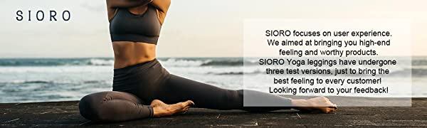 SIORO focuses on user experience.We aimed at bringing you high-end feeling and worthy products.