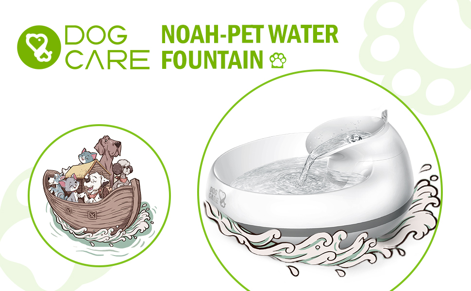 Dog care pet water fountain