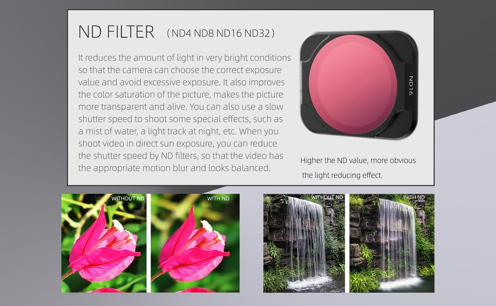 dji air 2s nd filter set
