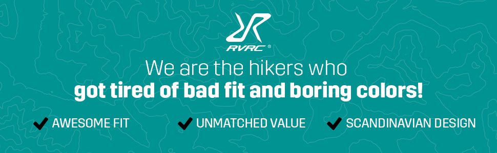 RevolutionRace - We are the hikers who got tierd of bad fit and boring colors!