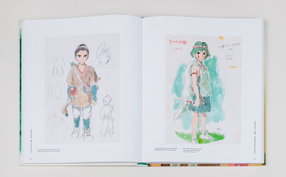 Pages from Hayao Miyazaki