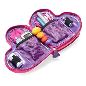 Love Bug diabetes case diabetes carrying case diabetes case diabetes wallet insulin pens kids case