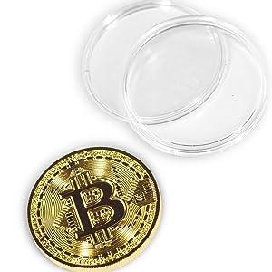 Physical Bitcoin Coin