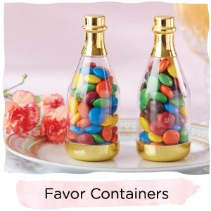 favor containers