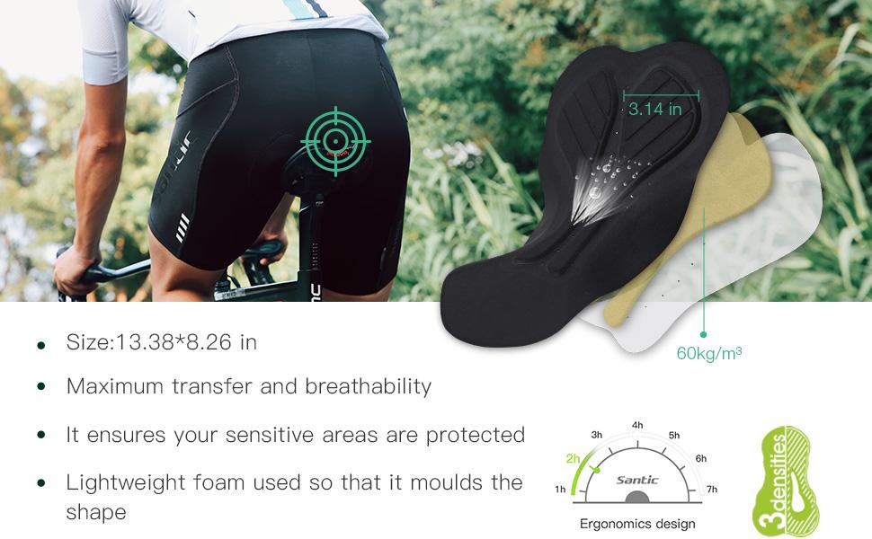bike shorts cycling shorts padded road pockets