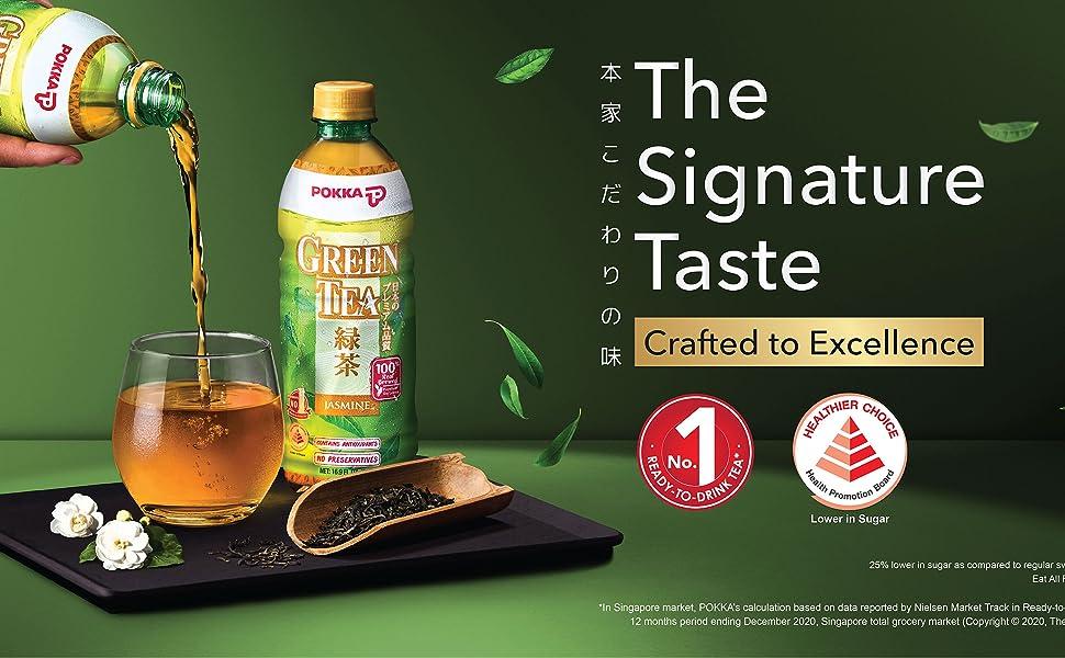 green tea the signature taste