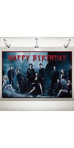 vampire diaries birthday decorations