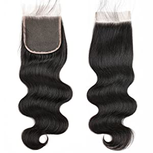 Brazilian Body Wave Human Hair Lace Closure
