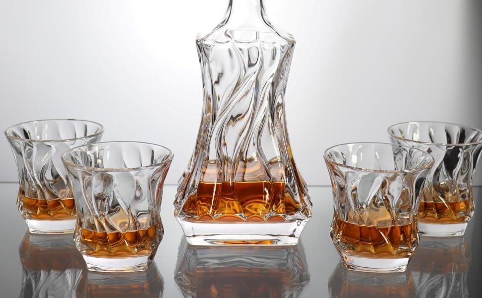 decanter set whiskey