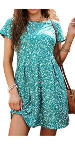 floral mini dresses