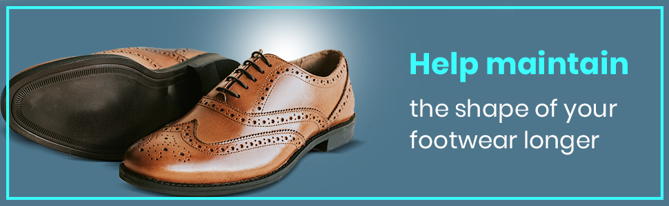help maintain the shape of your footwear longer.