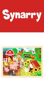 wooden puzzle for kids