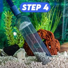 aquarium cleaner