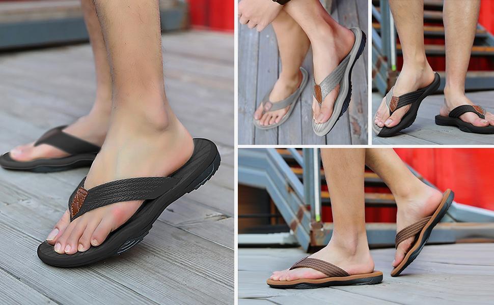 Flip Flops for Men Summer Beach