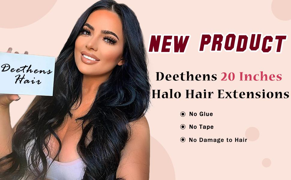 Halo Hair Extension 1