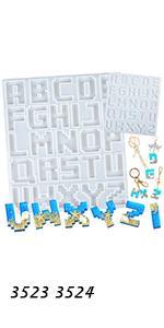 Pixel Alphabet Molds 2-in-Set