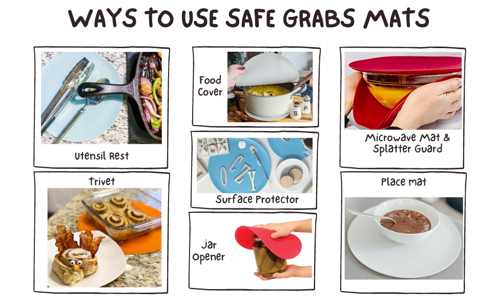 ways to use safe grabs