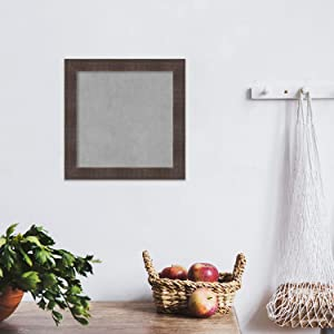 Use a magnetic board in the kitchen