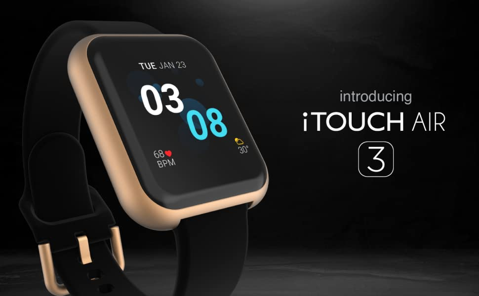 introducing iTOUCH AIR 3 smartwatch