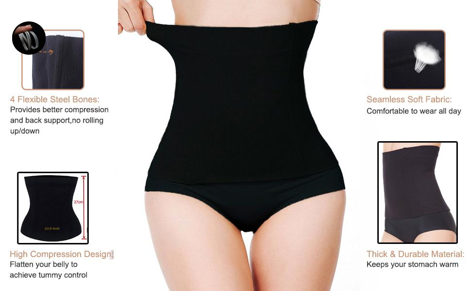 Postpartum Belly Band Maternity Support Recovery Belt Girdles for Women