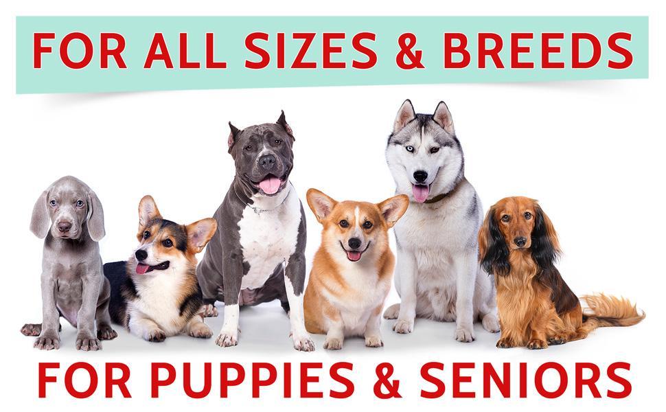 breeds sizes