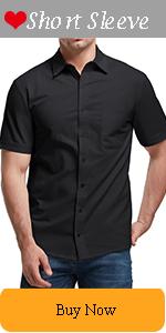 Men's Short Sleeve Button Down Shirts