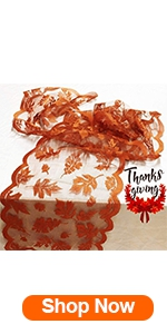 Fall Table Runner Thanksgiving Decorations
