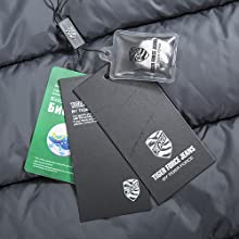 Professional clothing brand labels and Padding cotton samples