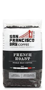 french roast whole bean bag