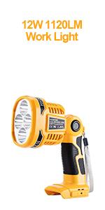dewalt 20v led work light