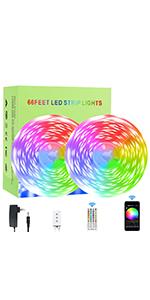 65 ft smart strip lights