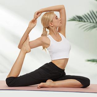 Capri Yoga Pants for Women Wide Leg