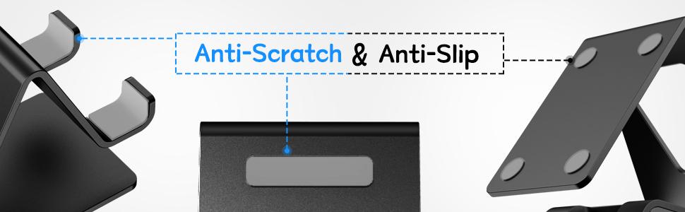 Anti-Scratch amp; Anti-Slip rubber pads