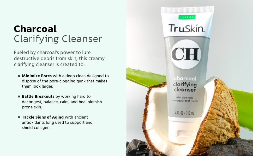 TruSkin Charcoal Wash hero