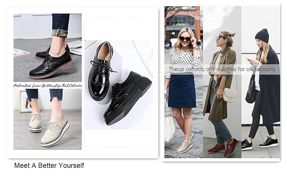 THESE OXFORDS ARE SUITABLE FOR ALL SEASONS