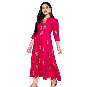 Anarkali Kurtas for women festive wear