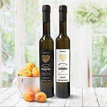 Vervana California organic extra virgin olive oils - Arbequina EVOO and Koroneiki EVOO