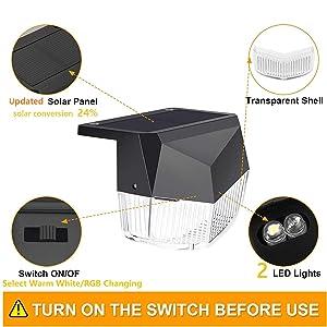 Lacoco solar deck light