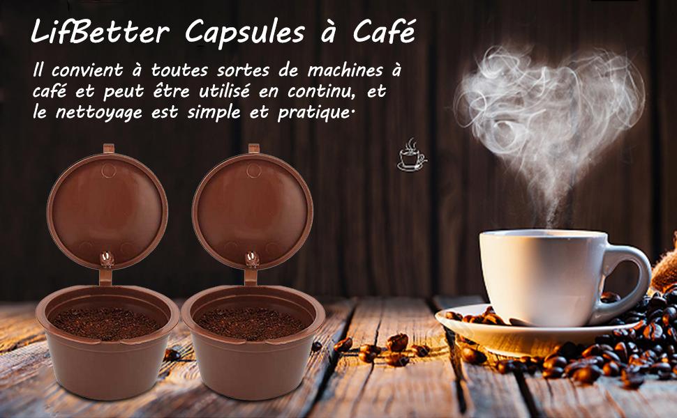 Capsule de café réutilisable