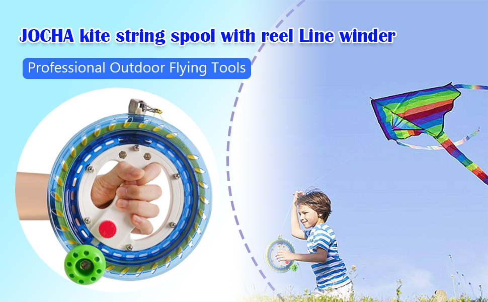 kite string spool with reel Line winder